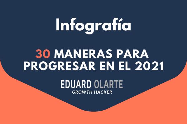 30 maneras para progresar en el 2021
